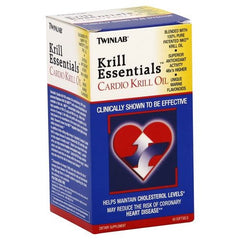 TwinLab Krill Essentials Cardio Krill Oil - 60 Softgels - 027434031059