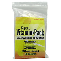 Vitalabs Super Vitamin Pack - 30 Packets - 092617081411