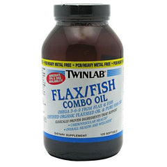 TwinLab Flax/Fish Combo Oil - 120 Softgels - 027434031042