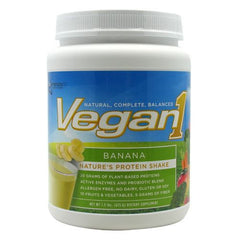 Nutrition53 Vegan1 - Banana - 1.5 lb - 810033011566