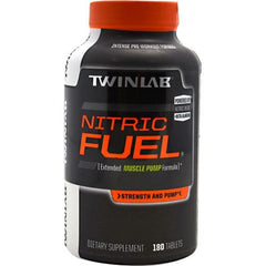 TwinLab Strength + Pump Nitric Fuel - 180 Tablets - 027434037303