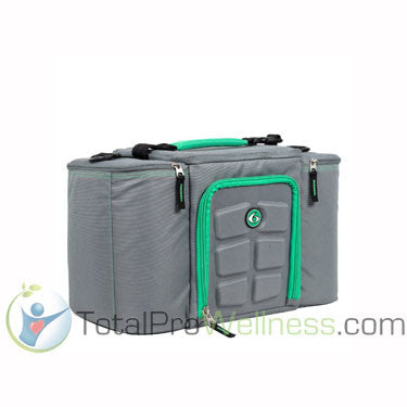 Innovator Insulated 3 Meal Management Bag Grey/Lime