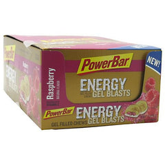 PowerBar Energy Gel Blast - Raspberry - 12 ea - 097421130300