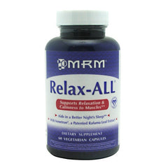 MRM Relax-ALL - 60 caps - 15 Servings - 609492310170