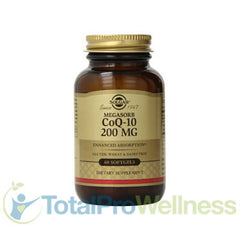 Megasorb CoQ-10 200 Mg 60 Softgels