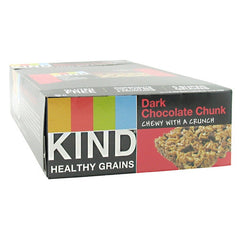 Kind Snacks Healthy Grains Bar - Dark Chocolate Chunk - 12 Bars - 602652184079