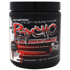 Scivation Psycho - Ragin Punch - 60 Servings - 181030109991