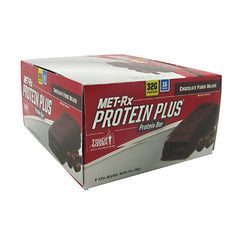 MET-Rx Protein Plus - Chocolate Fudge Deluxe - 9 Bars - 786560557108