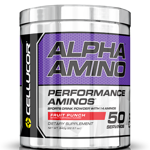 Alpha Amino Fruit Punch 50 serving