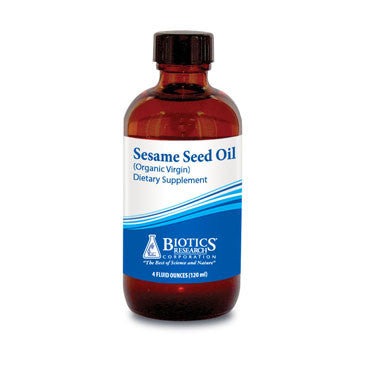 Sesame Seed Oil (Organic Virgin) (4 fl oz) Fluid