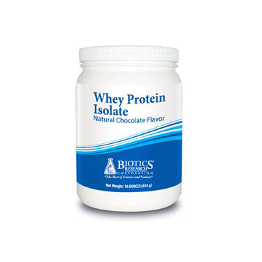 Whey Protein Isolate - Natural Chocolate Flavor (16 oz)