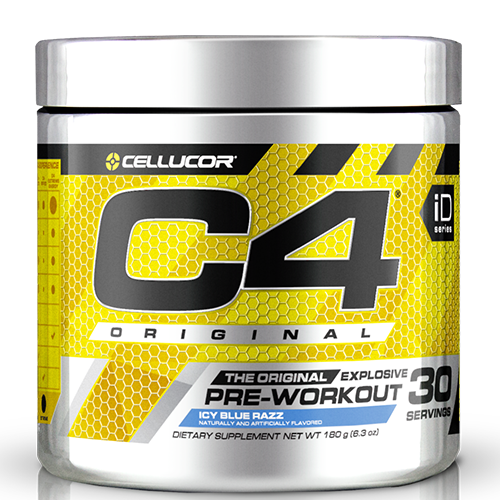 C4 Pre Workout Icy Blue Razz- 30 Servings