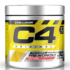 C4 Pre Workout Fruit Punch- 30 Servings