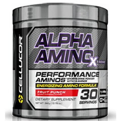 Alpha Amino XTREME Fruit Punch 30 servings