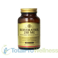 Resveratrol with Red Wine Extract Softgels, 250 Mg, 60 Count