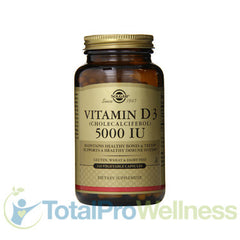 Vitamin D3 Cholecalciferol 5000 IU Vegetable Capsules, 240 Count