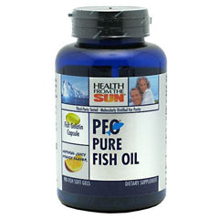 Health From The Sun PFO Pure Fish Oil - Natural Juicy Orange - 90 Softgels - 010043051716