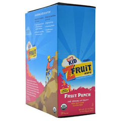 Clif Kid Organic ZFruit Rope - Fruit Punch - 18 ea - 722252380074
