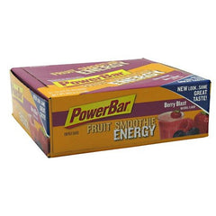 PowerBar Fruit Smoothie Energy Bar - Berry Blast - 12 Bars - 097421010107