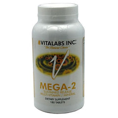 Vitalabs Mega-2 - 180 Tablets - 092617066647