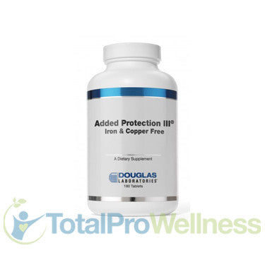 Added Protection III 180 Iron-free, + Copper Tablets