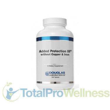 Added Protection III Iron and Copper Free 180 Tablets