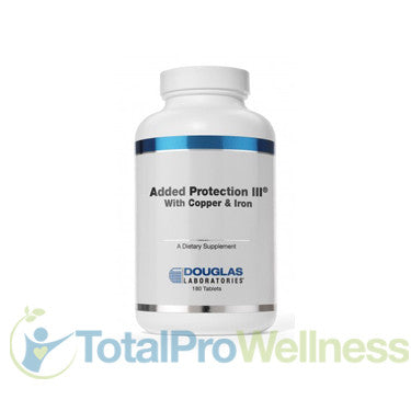 Added Protection III with Copper and Iron 180 Tablets