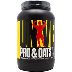 Universal Nutrition Pro & Oats - Rich Chocolate - 3 lb - 039442048417