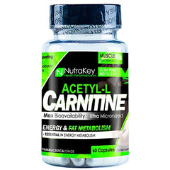 Nutrakey Acetyl L-Carnitine - 60 Capsules - 628586709409
