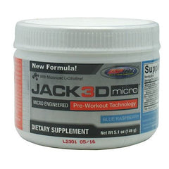 USP Labs Jack3d Micro - Blue Rasberry - 5.1 oz - 094922463104