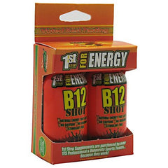 1st Step for Energy Maximum Energy B12 Shot - Tropical Blast - 2 Bottles - 673131102730