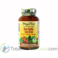 One Daily Iron Free 90 Tablets