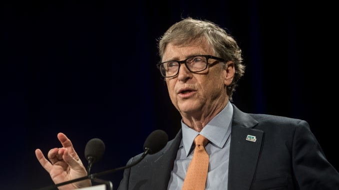 Bill Gates calls coronavirus pandemic a 'nightmare scenario'