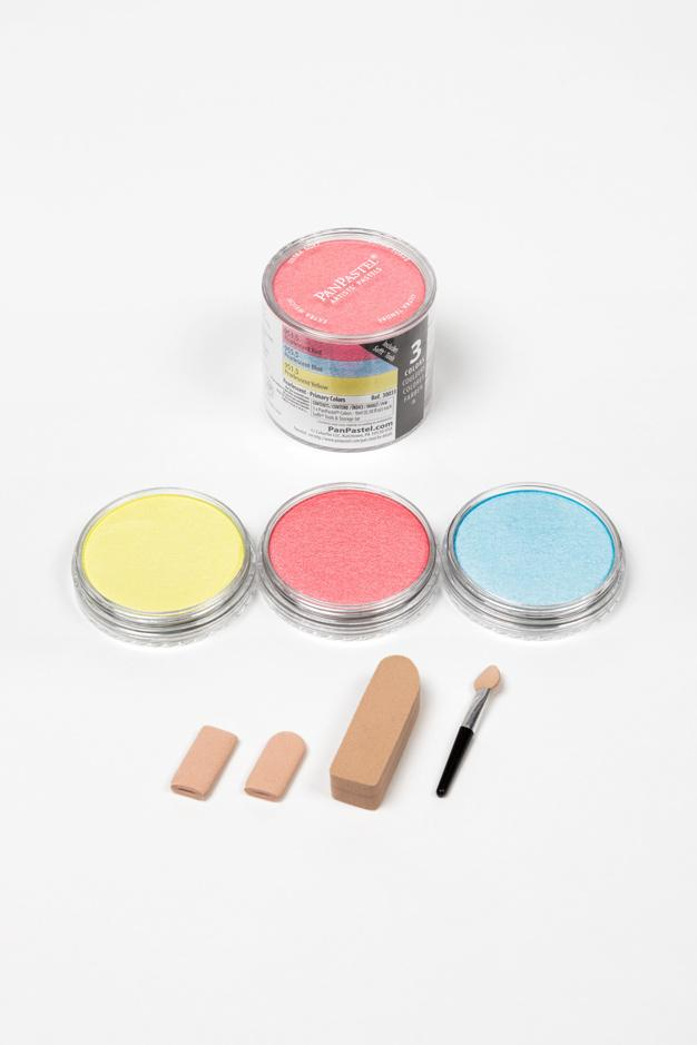 Pearlescent Set - Primary Colors  (3 Color)
