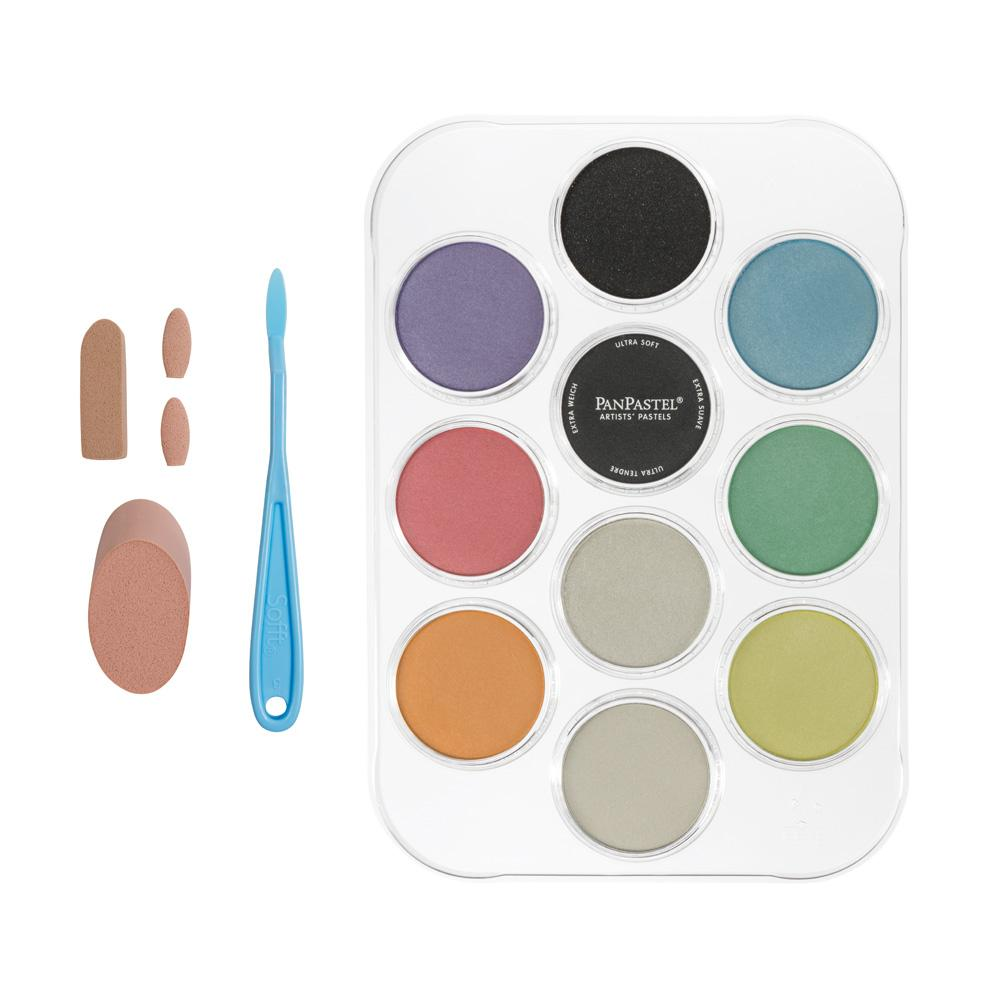 Pearlescent & Mediums Painting Kit (10 Color)