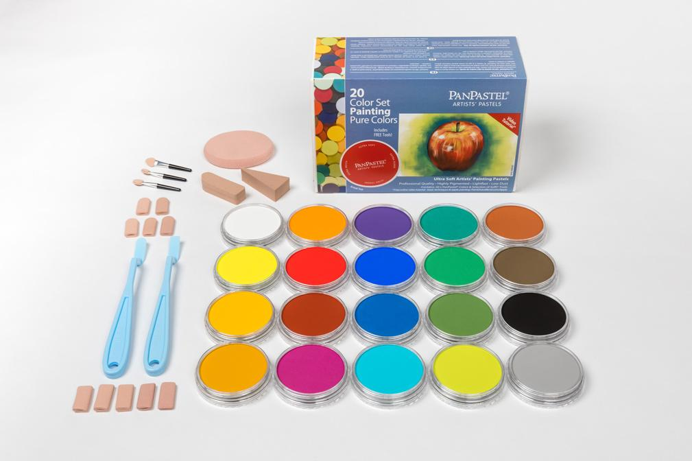Pure Colors / Painting Set (20 Color)