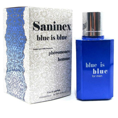 PERFUME CON FEROMONAS HOMBRE SANINEX BLUE IS BLUE