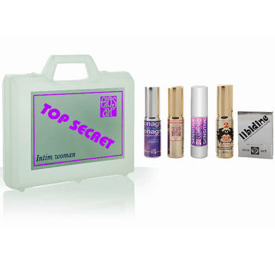 KIT TOP SECRET ORGASMICO UNISEX