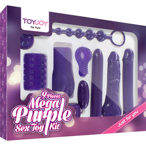 JUST FOR YOU MEGA PURPLE SEX TOY KIT