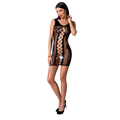 PASSION WOMAN BS073 BODYSTOCKING TALLA UNICA