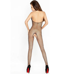 PASSION WOMAN BS014 BODYSTOCKING NEGRO TALLA UNICA