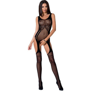 PASSION WOMAN BS061 BODYSTOCKING NEGRO TALLA UNICA