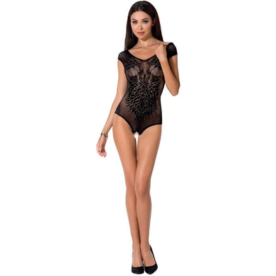 PASSION WOMAN BS064 BODYSTOCKING NEGRO TALLA UNICA