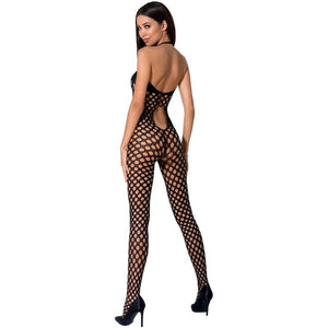 PASSION WOMAN BS065 BODYSTOCKING NEGRO TALLA UNICA