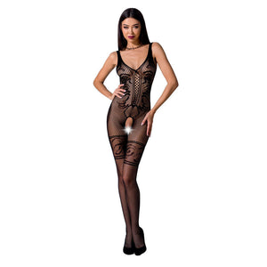 PASSION WOMAN BS069 BODYSTOCKING NEGRO TALLA UNICA