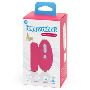 HAPPY RABBIT PANTIES CON ESTIMULADOR CONTROL REMOTO TALLA UNICA
