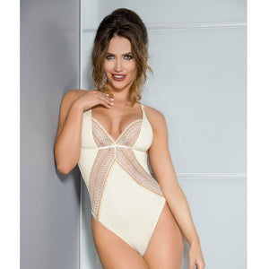 CASMIR CONNIE BODY COLOR CREMA TALLA S M
