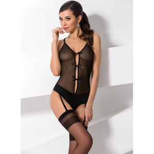 PASSION WOMAN LUMIA TEDDY NEGRO TALLA S M