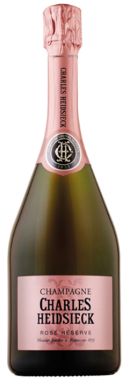 CHAMPAGNE ROSE' RESERVE CHARLES HEIDSIECK