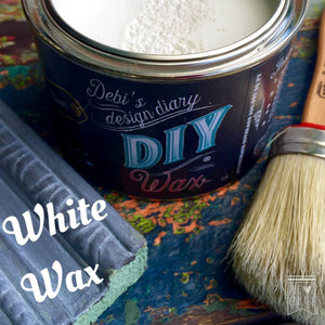 DIY Wax White DIY WAX - DIY Paint Wax Fast Drying Low VOC Furniture Paint Wax available at Lemon Tree Corners